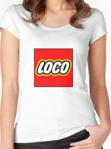 Loco Lego Women's Fitted Scoop T-Shirt