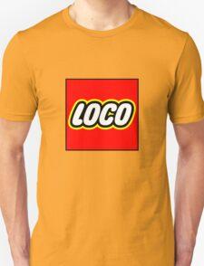 Loco Lego Unisex T-Shirt