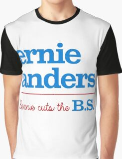 Ernie Anders (Bernie cuts the B.S.) Graphic T-Shirt