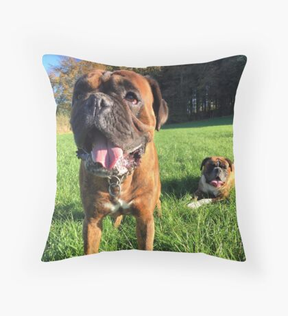 My Pups Throw Pillow