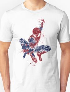 Spider-Man Splatter Art Color Unisex T-Shirt
