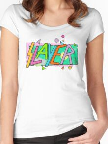 Beach Slayer! Women's Fitted Scoop T-Shirt