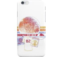 Spaceship Earth and Monorail Vintage T-Shirt iPhone Case/Skin