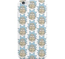 Rick Sanchez - Rick and Morty Pattern iPhone Case/Skin