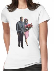 John & Jackie Womens Fitted T-Shirt