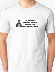 Metro Boomin Cartoon Unisex T-Shirt