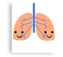 Happy Lungs :) Canvas Print