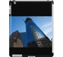 Building the Freedom Tower - One World Trade Center Under Construction iPad Case/Skin