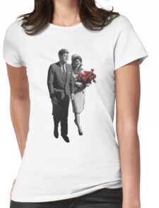 Jackie and John Womens Fitted T-Shirt