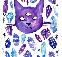 Cat & Gems 02 by Jazmine Phillips