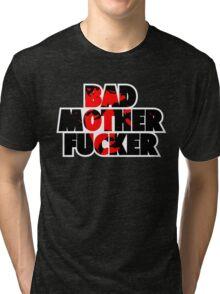 Pulp fiction - Bad Mother Fucker Tri-blend T-Shirt