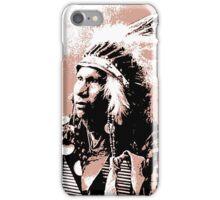 Afraid Of Hawk-Oglala Lakota iPhone Case/Skin