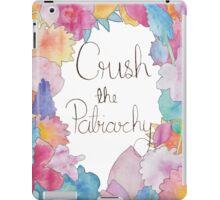 Crush The Patriarchy (2) iPad Case/Skin