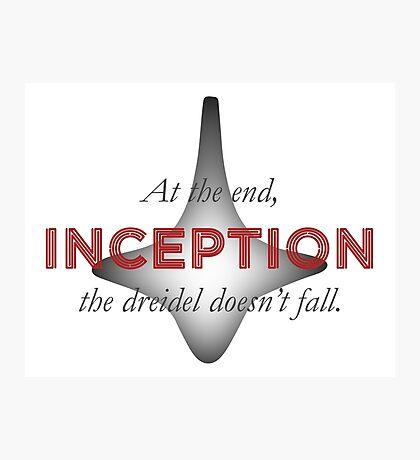 Spoiler - Inception #1 (White BG) Photographic Print