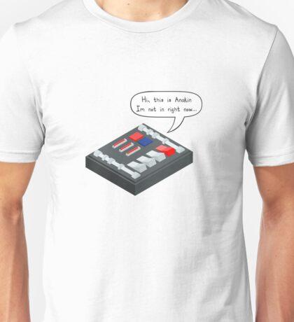 Hi, This is Anakin... Unisex T-Shirt
