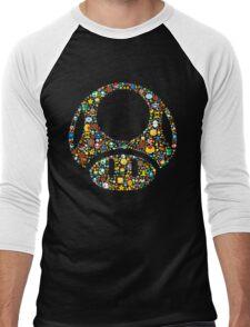Toad minimalist Men's Baseball ¾ T-Shirt