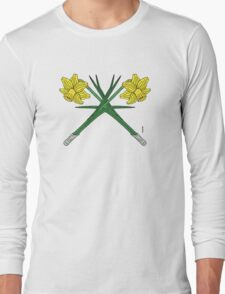 Daffodils Crossed Long Sleeve T-Shirt