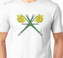 Daffodils Crossed Unisex T-Shirt
