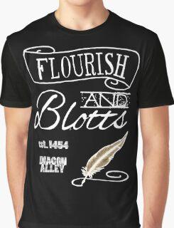 Flourish & Blotts. Graphic T-Shirt