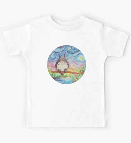 Totoro 3 Kids Tee
