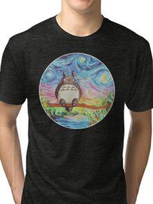 Totoro 3 Tri-blend T-Shirt