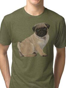 Pug puppy cuteness Tri-blend T-Shirt