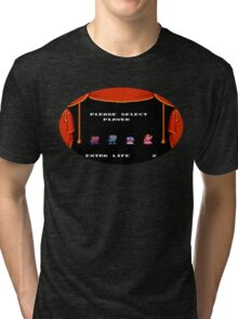 Please Select Player Mario 2 Tri-blend T-Shirt