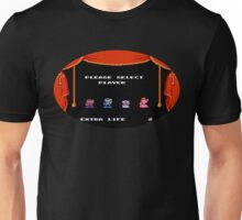 Please Select Player Mario 2 Unisex T-Shirt