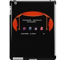 Please Select Player Mario 2 iPad Case/Skin