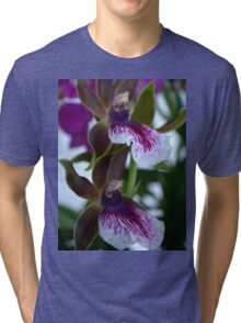Let there be twin Orchids Tri-blend T-Shirt