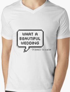 What a beautiful wedding Mens V-Neck T-Shirt