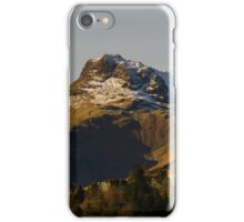 Snow On The Langdales iPhone Case/Skin