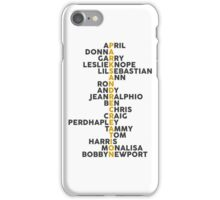 Parks and Recreation <3 iPhone Case/Skin