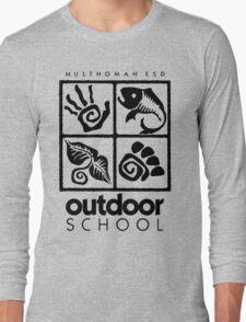 Outdoor School Logo (scb) Long Sleeve T-Shirt