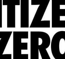 MODEL CITIZEN ZERO DISCIPLINE Sticker