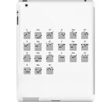 Basic Guitar Chords  iPad Case/Skin