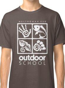 Outdoor School Logo (scw) Classic T-Shirt