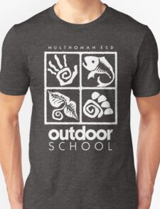Outdoor School Logo (scw) Unisex T-Shirt