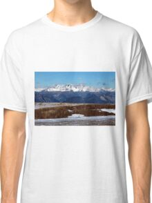 Winter in the Alps Classic T-Shirt