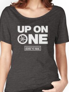Up On One Performance Dirt Motorcycles Women's Relaxed Fit T-Shirt