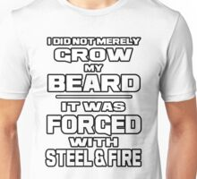 FORGED WITH STEEL AND FIRE Unisex T-Shirt