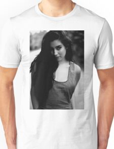 The girl in b&w Unisex T-Shirt