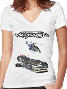 NFS MW Women's Fitted V-Neck T-Shirt