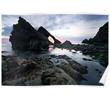Bow Fiddle Rock, Scotland Poster