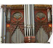 Exeter Cathedral Organ Pipes Poster