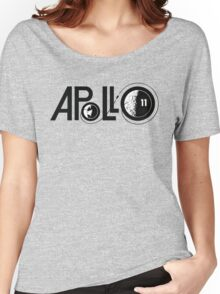 APOLLO 11 LOGO Women's Relaxed Fit T-Shirt