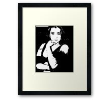 Black it  Framed Print