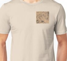 Man on a Bench Thinking About the Past Unisex T-Shirt