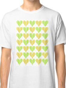 Love Hearts Abstract No.4 Classic T-Shirt