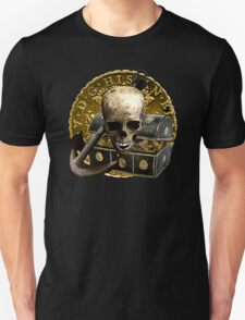 Anchored In Pirate Gold Unisex T-Shirt